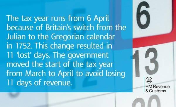 HMRC Tax Year